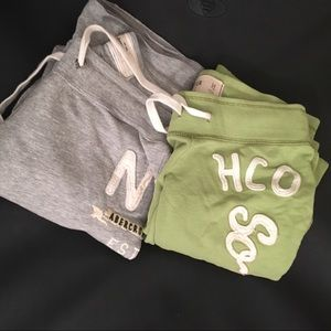 Abercrombie & Hollister long sweatpants lot